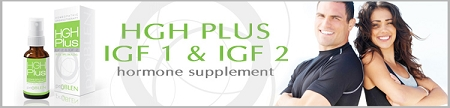 HGH Plus IGF-1 & IGF-2 booster banner