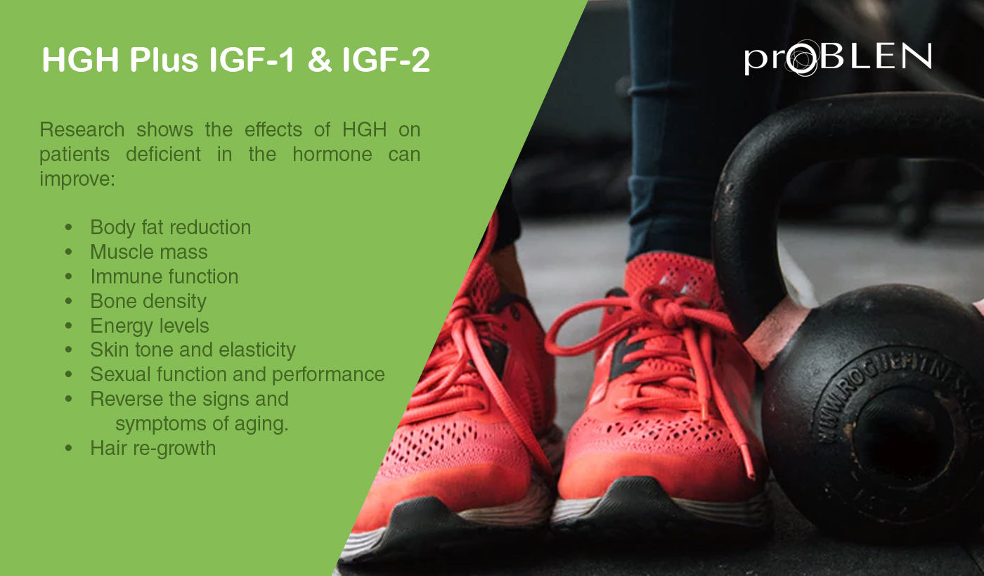 All You Should Know About HGH Plus IGF-1 & IGF-2
